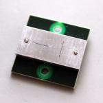 Crystalspace nanosatellite sun sensor